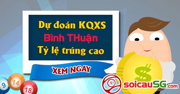 Dự đoán xổ số miền nam – Soi cầu Miền Nam vip Bình Thuận hôm nay thứ 5